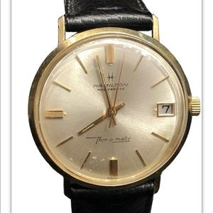 Hamilton Masterpiece Thin-o-matic Date Watch